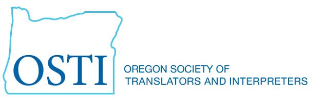 Northwest Translators and Interpreters Society - OSTI annual conference